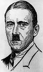 150px Drawing of Adolf Hitler