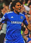 Joe Cole Florent Malouda celebrates Chelsea v 2387470
